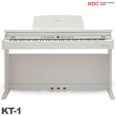 [10/22 순차배송]디지털피아노 KT-1/ KT1(화이트)전자피아노 [착불 40,000원]