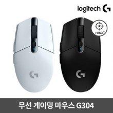 게이밍마우스G304[블랙/화이트][무선][로지텍코리아정품]