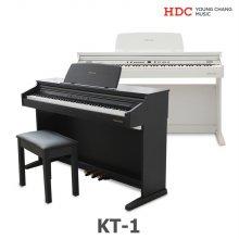 [예약 4/29 순차배송][L.POINT 1만점] 영창 디지털피아노 KT1(화이트/로즈우드)[설치착불 3.5만원]