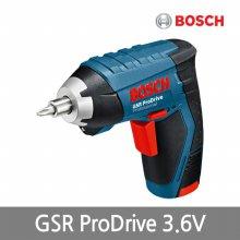 [보쉬] 충전스크류드라이버GSR ProDrive 3.6V1.3A