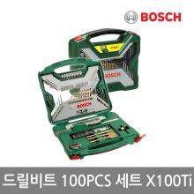 [보쉬] 악세사리 드릴비트 100PCS 세트_X100Ti