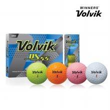 볼빅 DS55 12구 볼 골프볼 골프용품 옐로우