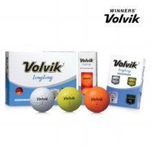 볼빅 롱롱 LONG LONG 12구 볼 골프볼 골프용품 옐로우