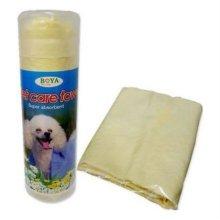 펫케어 목욕타올(노랑)애견타올 강아지타올 W1B624A