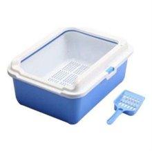 CF-S02C 평판형 고양이화장실 모래삽(블루) W1B6128