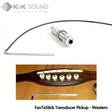 K&K Sound FanTaStick Western / 언더새들 트랜스듀서 어쿠스틱 픽업