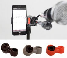 Prefox SP-01 스마트폰 거치대 / 악기, 스탠드 등 다양하게 사용가능 (블랙)
