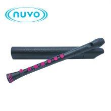 Nuvo Recorder Plus - Black / Pink 저먼식 리코더 (N320RDBPK-G)