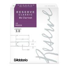 Daddario RESERVE 클라리넷 클래식 리드 Bb 3.0 (DCT1030)