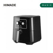 대용량 에어프라이어 HAF-BK550B [5.5L / 회오리 공기순환 히팅 / 과열방지 센서]
