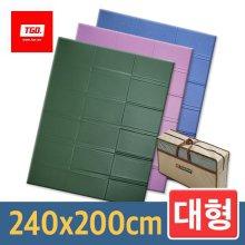 캠핑매트 (대형_무지) 240x200cm 14_[뉴대형] 카키