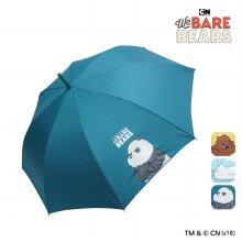 위베어베어스 패턴 장우산 IUWBU10001 옐로우