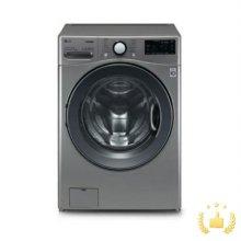 드럼세탁기 F21VDT[21KG/5방향터보샷/6모션손빨래/트루스팀/인버터DD모터/블랙틴트도어/모던스테인리스]