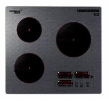 (빌트인) 3구 인덕션 전기레인지 CIR-IH303DSBI [4가지 조리모드 / 고온제어기술]