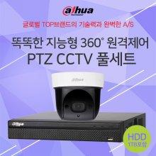 지능형 원격제어 PTZ CCTV 패키지(HDD 포함)