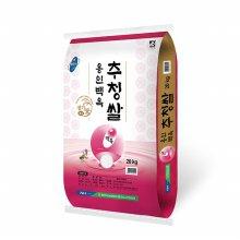 [20년산] 용인 백옥추청쌀 20kg/농협쌀/당일도정
