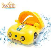 물놀이용 대형 아기 보행기 튜브 스포츠카/옐로우
