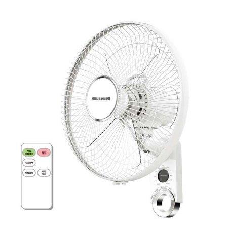 5엽 리모컨 벽걸이선풍기NCI-F16WRC [벽걸이 / 40cm(16) / 리모컨 / 3단계 조절 / 7.5시간 무소음 타이머 / 자연풍 /수면풍]
