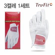 [TRUFIT](3장 1세트) 트루핏 고급양피 여성용 골프장갑 full leather/골프용품
