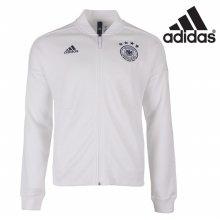 아디다스 남성 DFB 독일 ZNE 니트 집업 축구 자켓-CF2452