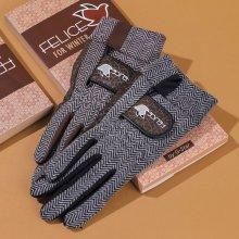 지스타 펠리체 남녀 양손 방한 골프장갑 방한용품