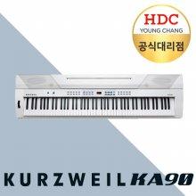 [견적가능] 영창 커즈와일 KA90 해머건반 키보드형 디지털피아노_화이트