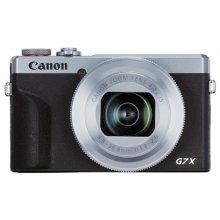 파워샷 PowerShot G7X Mark III 하이엔드 카메라[실버][16GB메모리카드+가방증정]