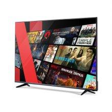하이마트 배송! 140cm UHD 스마트 TV / PTI55UL (스탠드형 자가 설치)