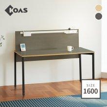 [코아스]1600 컴퓨터데스크+A스크린 OSD1603SNA