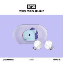 라인프랜즈&BTS콜라보 블루투스 이어폰 BT21 BABY [망][무선충전/IPX5]