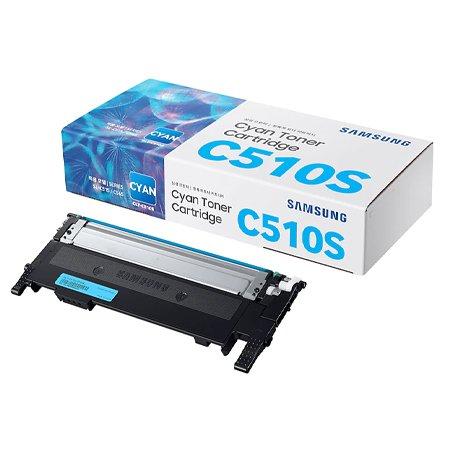 [정품]삼성 컬러토너[CLT-C510S][파랑][1,000매/호환기종:SL-C510,C510W,C513,C513W,C563FW,C563W]