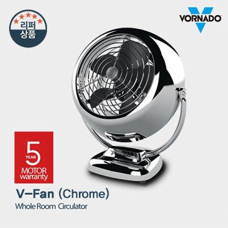 보네이도 기계식 써큘레이터 V-FAN(CHROME) [공기이동거리21M/ 90도 각도조절/ 속도조절3단계]