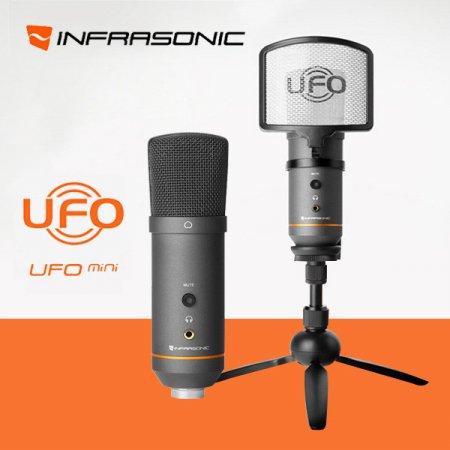 인프라소닉 UFO mini 올인원 콘덴서 마이크 인터넷방송
