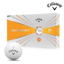 2020 캘러웨이 슈퍼핫 골프공 15알 화이트볼 골프볼 골프용품 필드용품 Callaway SUPERHOT BOLD
