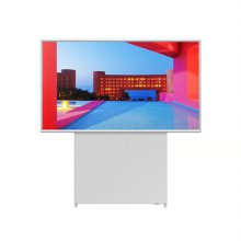 [더 세로] 108cm QLED TV KQ43LST05BFXKR(화이트) [라이프스타일TV/가로-세로 회전/60W 사운드]