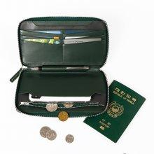 스마트폰 수납 장지갑 캐리어랏 딥그린