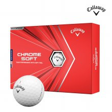 캘러웨이 정품 2020 크롬소프트20 우레탄 골프공 4피스 1더즌 12알