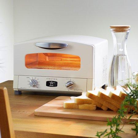 3in1 그라파이트 그릴 오븐 토스터 CRT-153SAWT (크림화이트)