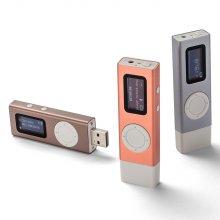 T70 시즌2 16GB (블루그레이) USB일체형 MP3+필름