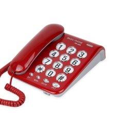 유선전화기 TK-200 (레드)