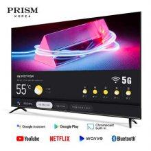 139cm UHD 스마트 TV A55I BT50 5G (벽걸이형 상하브라켓 기사설치)