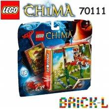 레고 키마의 전설 늪지 점프 70111