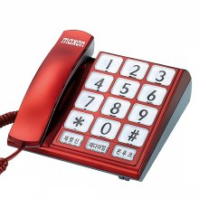 유선전화기 MS-109 빅버튼 효도전화기 (레드)
