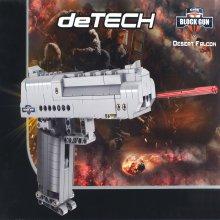 데저트이글 권총 307PCS DIY 조립식 블럭총