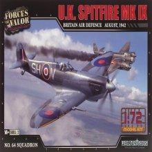 1/72 U.K Britain Air Defence 1942년 제2차 세계대전 스핏파이어 전투기 조립킷