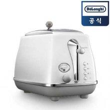 아이코나 캐피탈 토스터기 CTOC2003.W (2구, 6단계 굽기조절, 베이글 기능, 화이트)