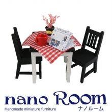 디오라마 DIY 나노룸 모노톤 테이블 미니어처