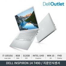 [공식리퍼] 인스피론 14 7490 / 노트북 / i7-10510U / FHD / 8GB / 512GB
