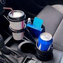 차량용 다용도 멀티 와이드 컵홀더 거치대 3in1 수납