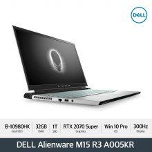Alienware M15 R3 A005KR 노트북 [10th i9-10980HK/32G/15.6 FHD 300Hz/1TB/RTX2070S]